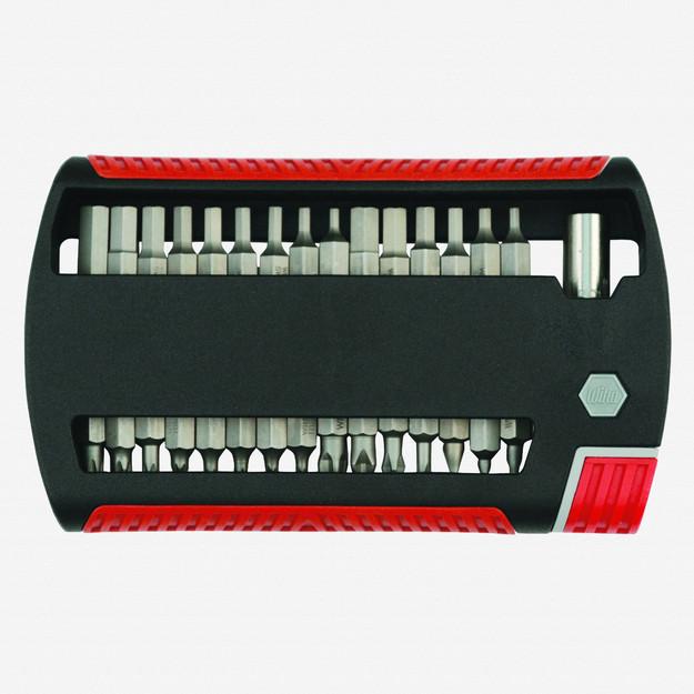 Wiha 79493 31 Piece Combo XLSelector Bit Set (Slotted/Phillips/Hex Inch/Hex Metric/Torx/Square)
