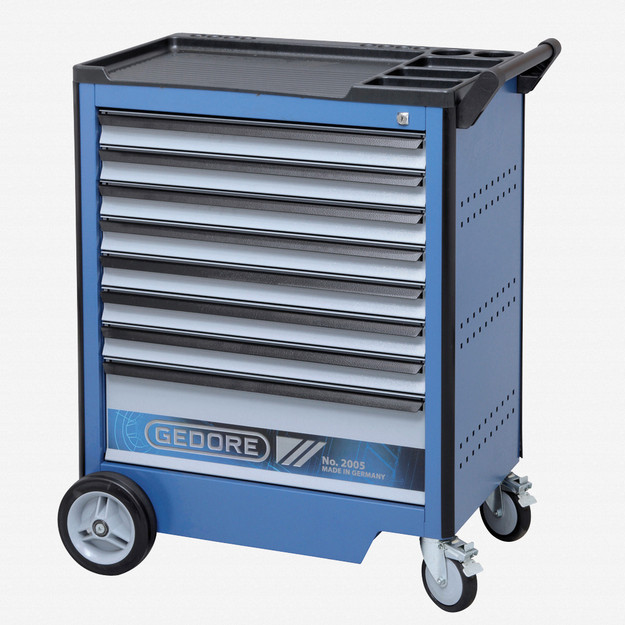 Gedore 2005 0701 Tool trolley with 8 drawers
