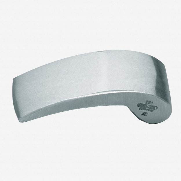 Gedore 281 Planishing hand anvil 130x55x36 mm