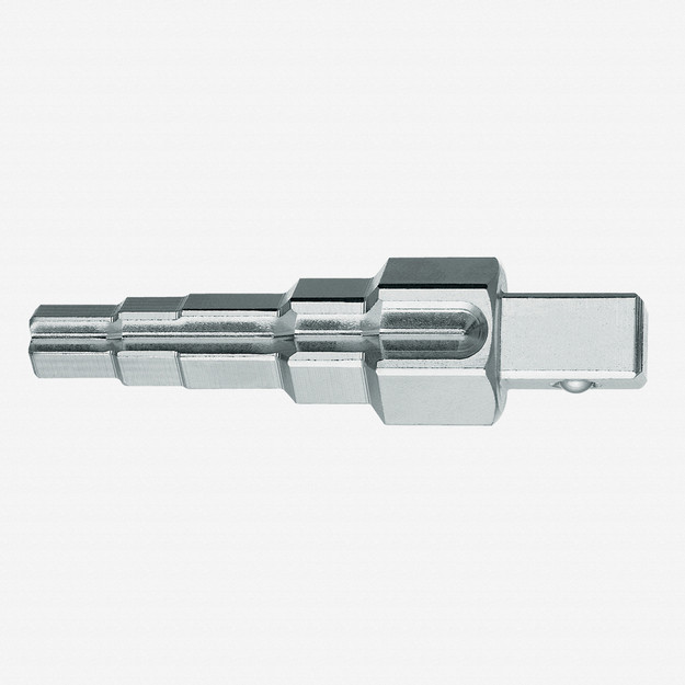 "Gedore 380100 Combi-stepped key with 5 steps 3/8""-1"""