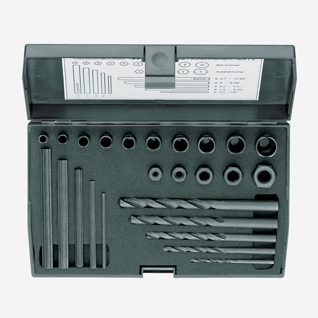 Gedore 8552-025 Screw extractor set