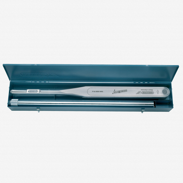 Gedore 8572-02 Torque wrench DREMOMETER F in a sheet-metal case