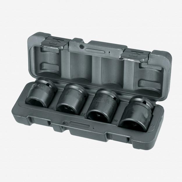 "Gedore K 32-040 Truck impact socket set 3/4"" 4 pcs hex 24-33 mm"