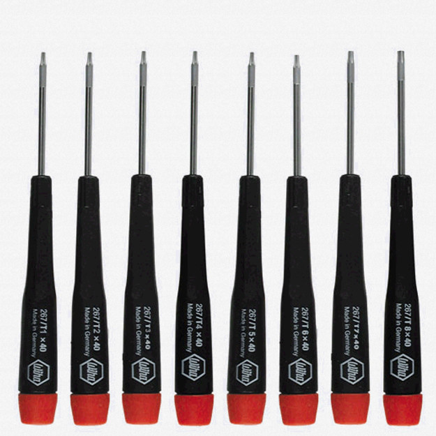 Wiha 26791 8 Piece Precision Torx Screwdriver Set - KC Tool