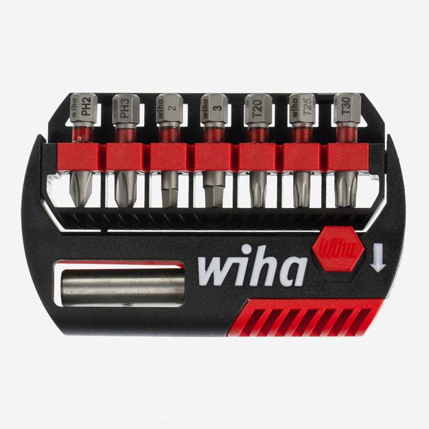 Wiha 76892 8 Piece Phillips Square Torx Bit Buddy Terminator Impact Power Bit Set