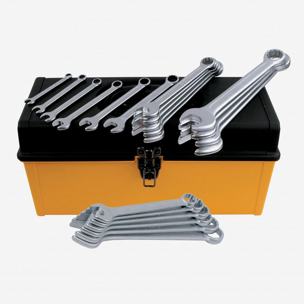 Wiha (Heyco) 40092 26 Piece Metric Combination Wrench Tool Box Set