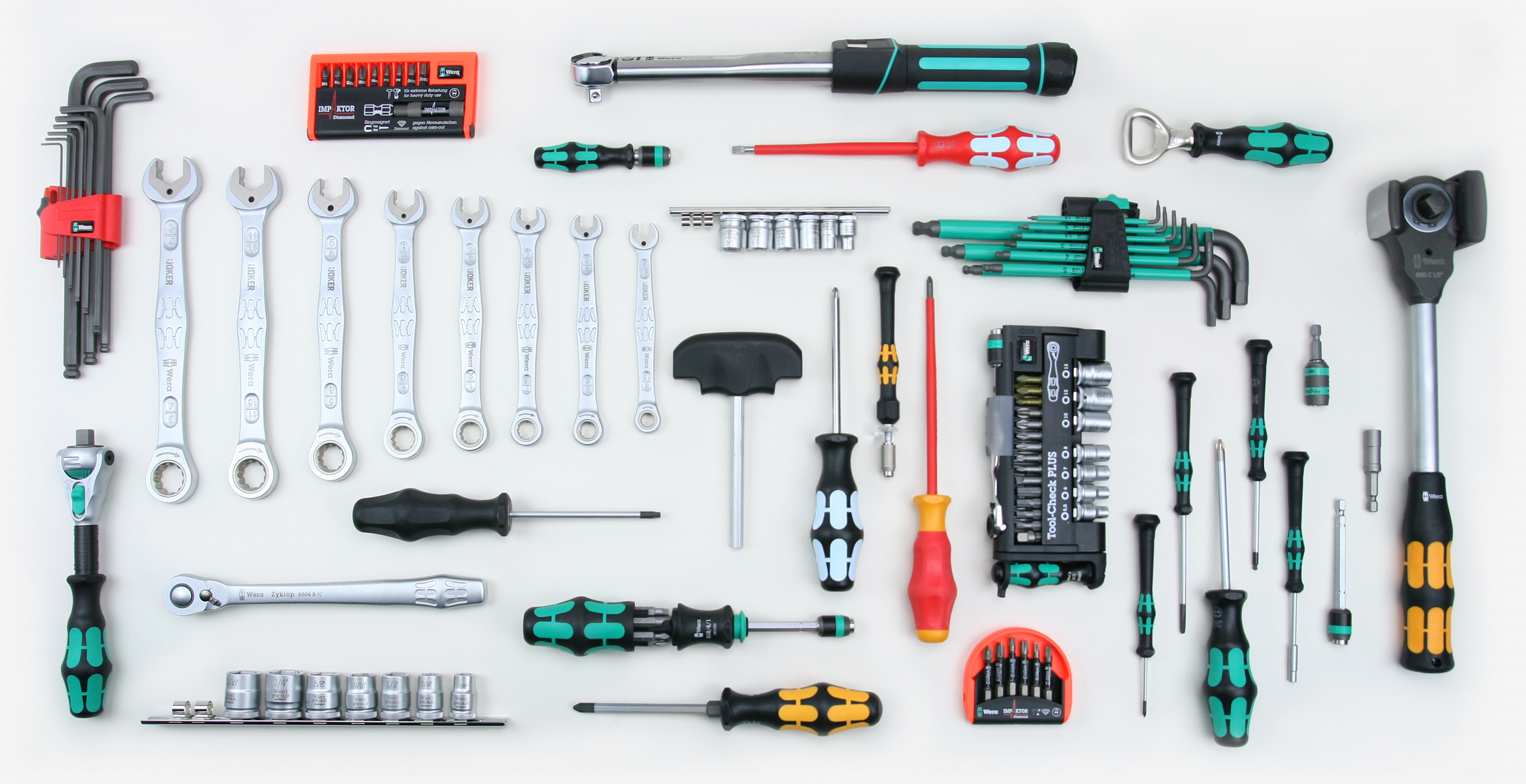 All Metal Tools On A Car Battery