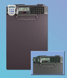 Clipboard/calculator with Traceable® Timer