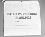 Patient Personal Belongings Bags - Economy