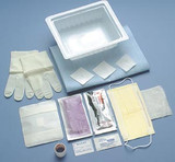 Busse Central Line Dressing Change Tray With Tegaderm™ Dressing