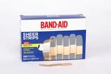 J&J Band- Aid® Sheer Strips & Spots