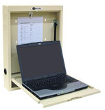 Omnimed Beam® Laptop Wall Desk