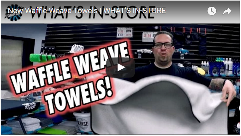 New Waffle Weave Towels | WHAT'S IN-STORE