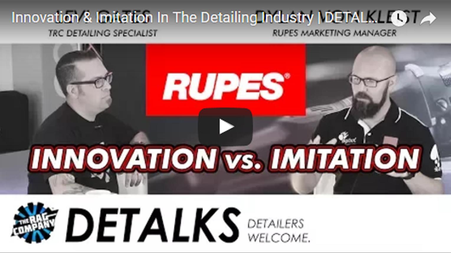 Innovation & Imitation In The Detailing Industry | DETALKS