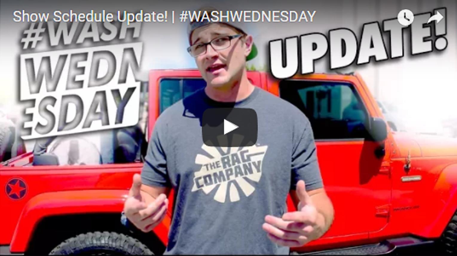 Show Schedule Update! | #WASHWEDNESDAY