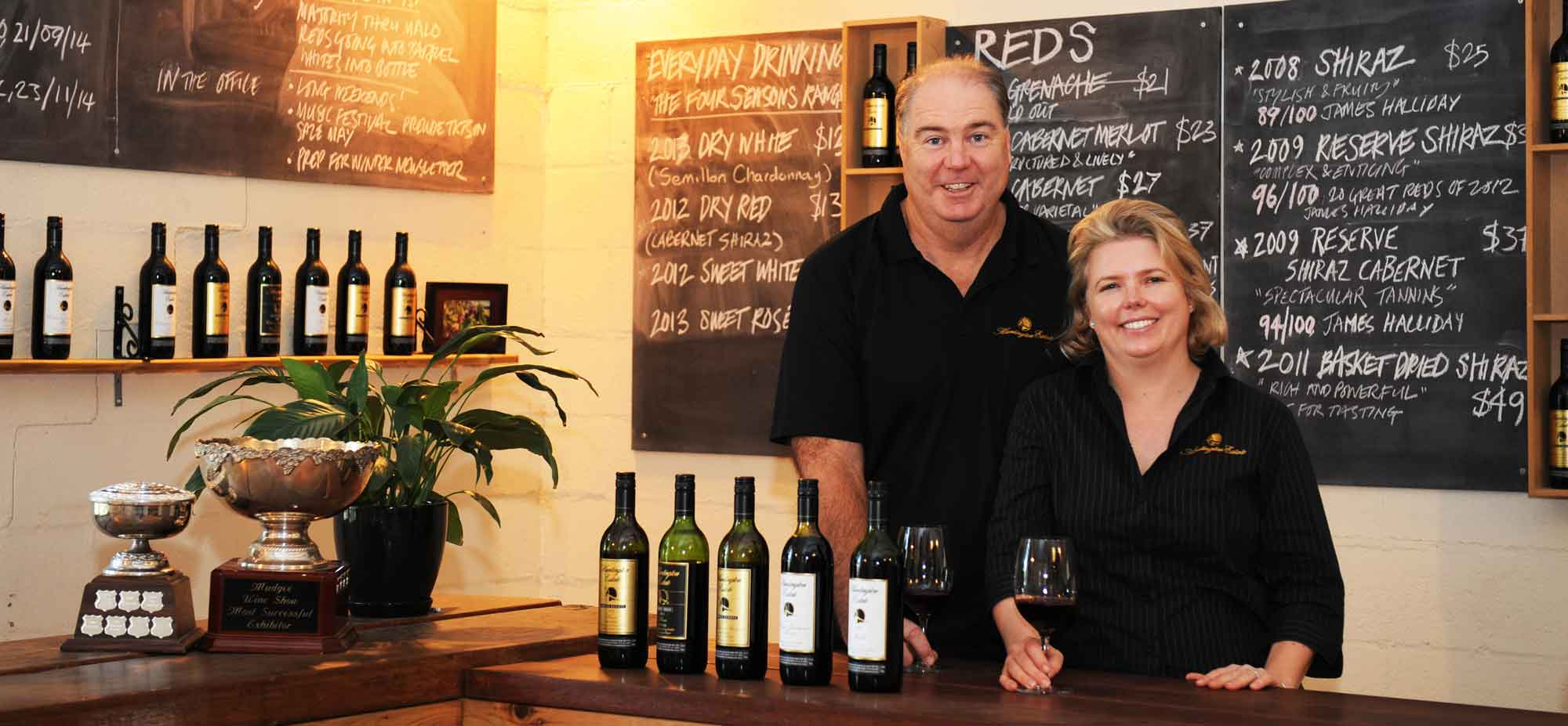 Tim & Nicky in the Cellar Door