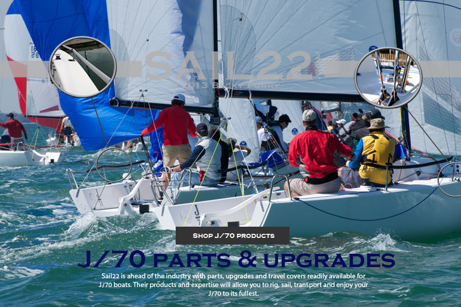 Sail22 is your source for J70 parts and rigging. We have it all and support racers on site.