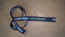 """""""Always Happy. Never Satisfied Belt""""©"""