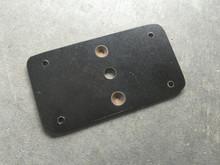 Flush mount plate for