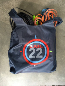 Sail22 Reusable Bag filled with rigging.