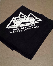 Not All Who Wander Are Lost Blanket