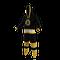 Boston Bruins onesie pajamas by Hockey Sockey - 40 degree side view