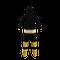 Boston Bruins onesie pajamas by Hockey Sockey - back view