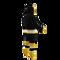 Boston Bruins onesie pajamas by Hockey Sockey - 240 degree side view
