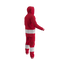 Detroit Red Wings NHL Onesie Pajama - 240 degree angle rear view