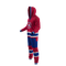 Montreal Canadiens NHL Onesie Pajama - 80 degree side view angle