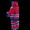 Montreal Canadiens NHL Onesie Pajama - 120 degree side view angle