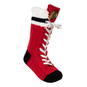 Chicago Blackhawks NHL Reading Sock