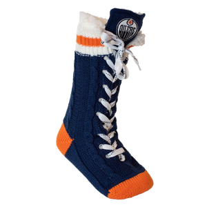 Edmonton Oilers NHL Reading Socks