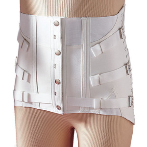 MEN'S LUMBOSACRAL SUPPORT 3-PULL SIDE LACE