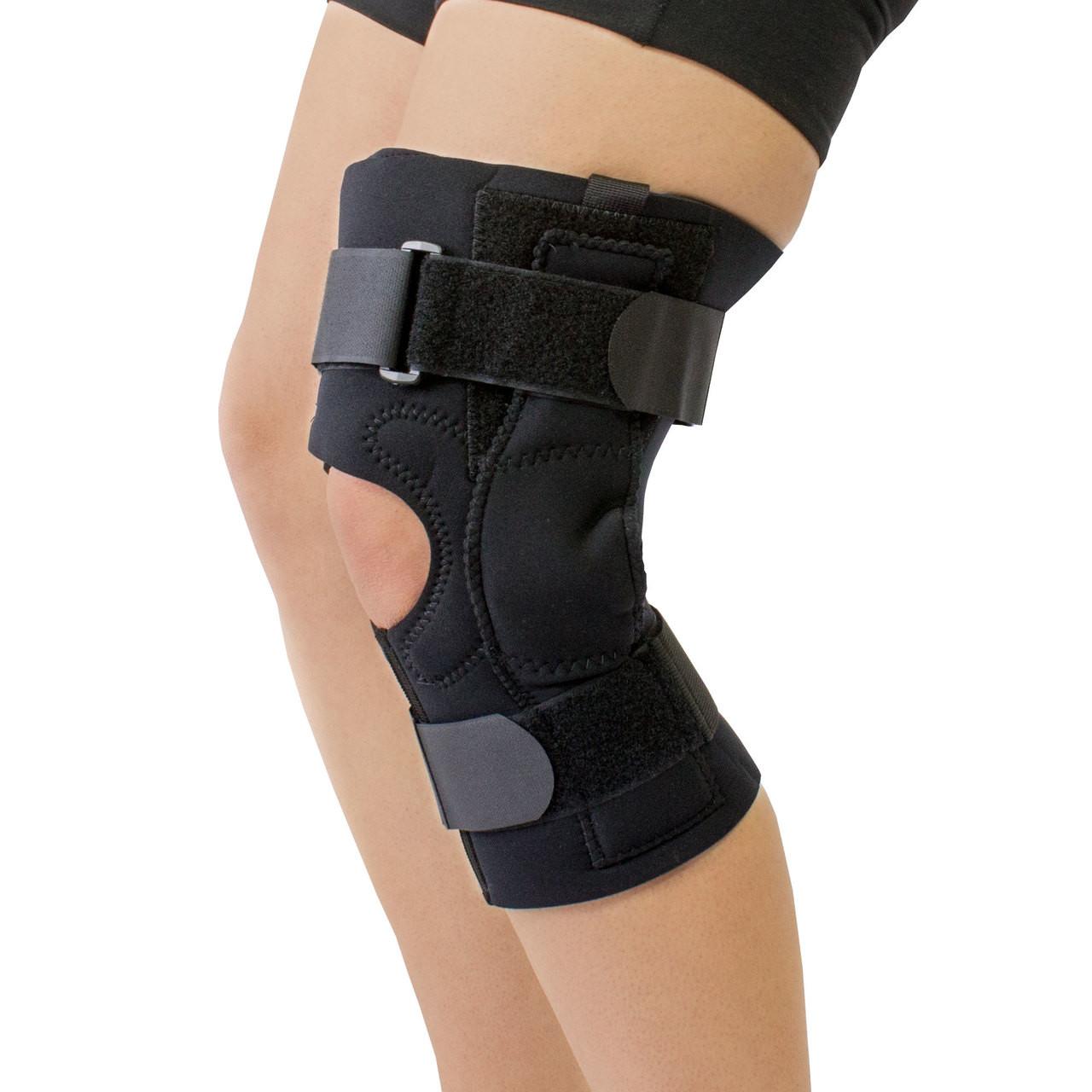 9d6e7baf2c Obesity Neoprene Knee Brace for Large Thighs Extension Control ...