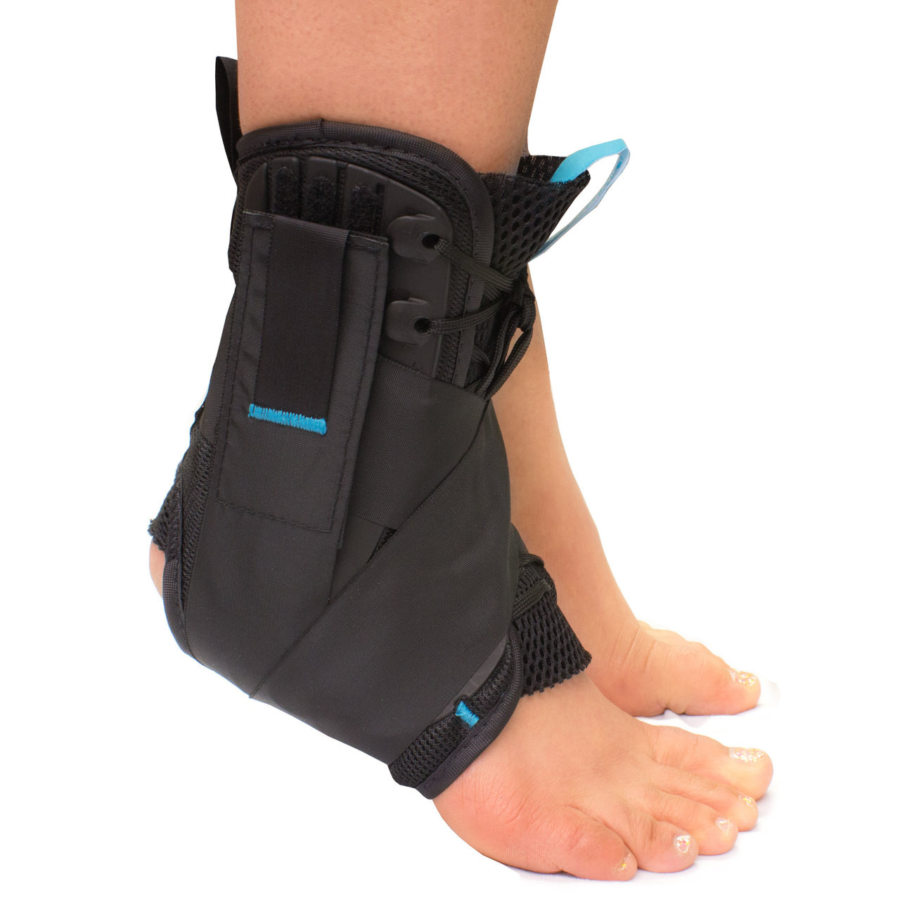 Lace-Up Ankle Brace / Foot Support For Large Ankles