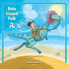 Bolo Lizard Card
