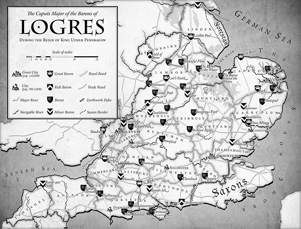 Caput Majors - Map of Logres