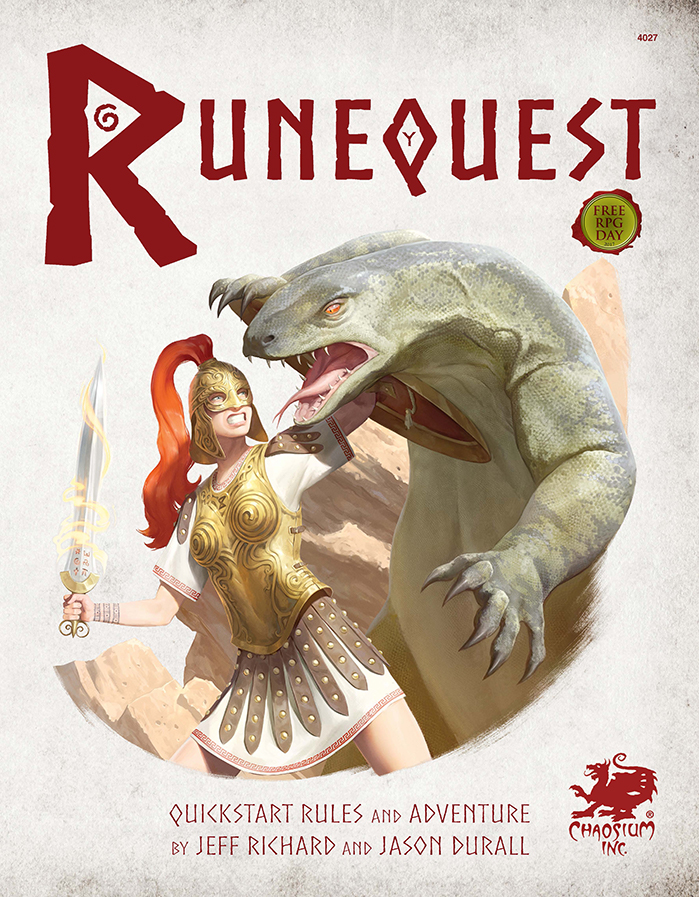 RuneQuest Quickstart Cover