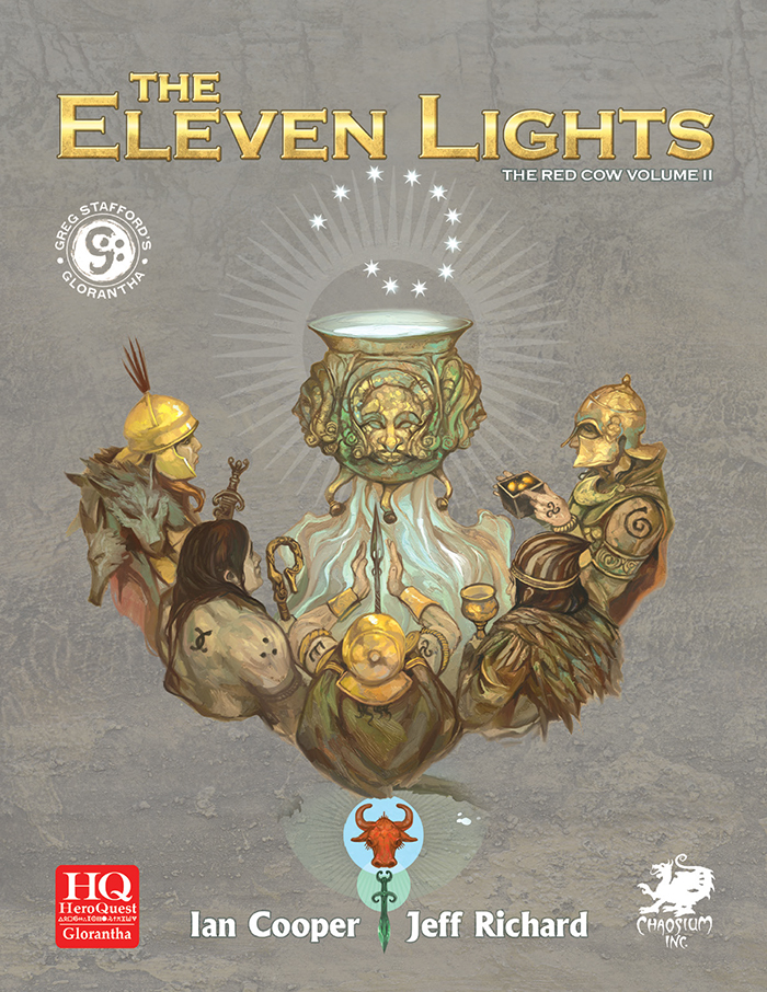 The Eleven Lights front cover