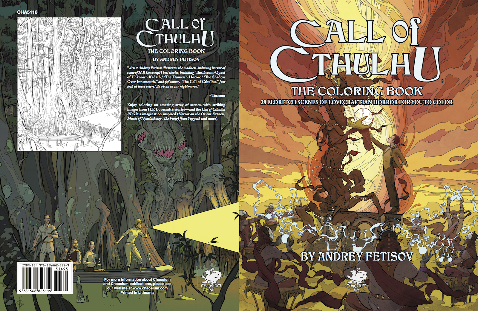 ENnies spotlight: Call of Cthulhu - The Coloring Book - Chaosium Inc.