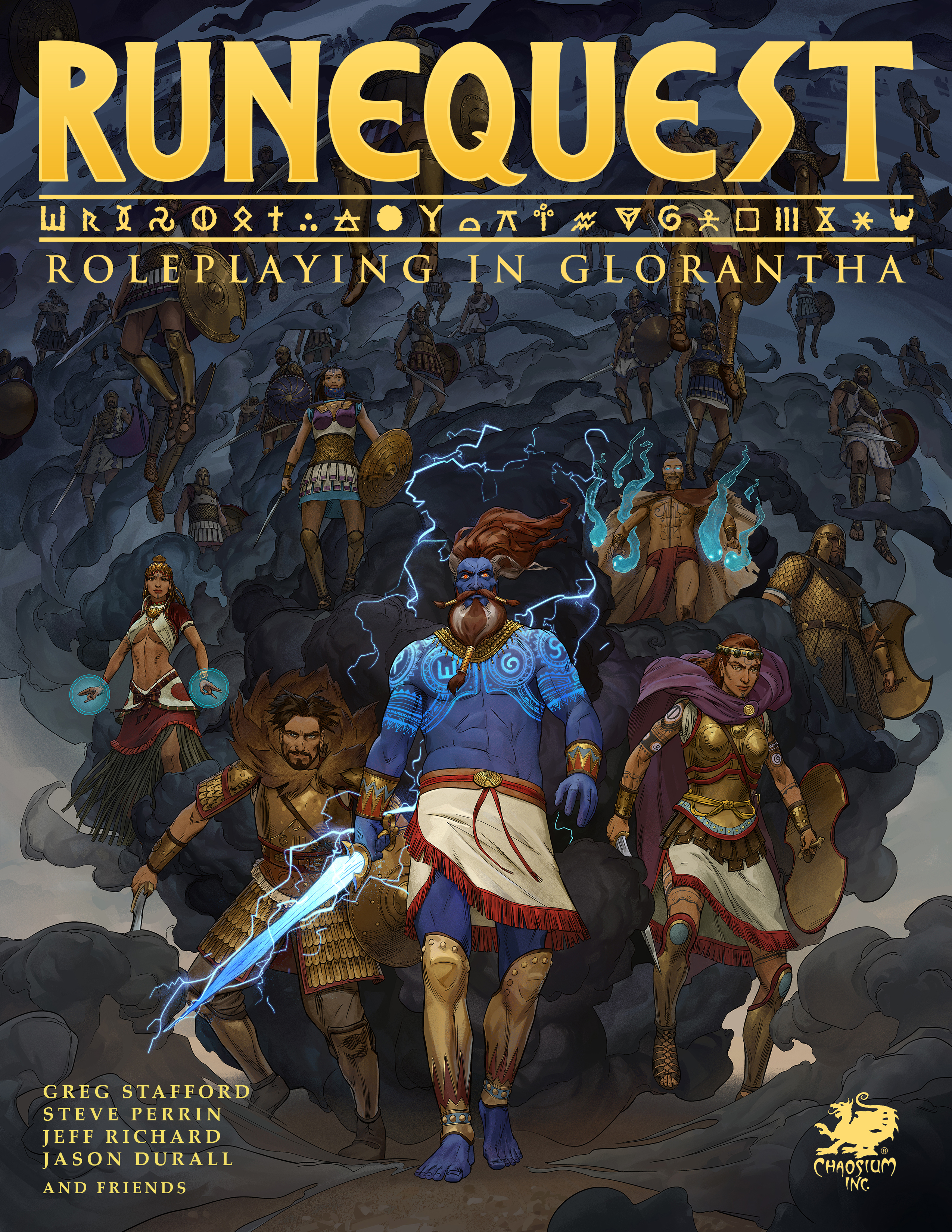 Runequest roleplaying in glorantha pdf chaosium inc fandeluxe Choice Image