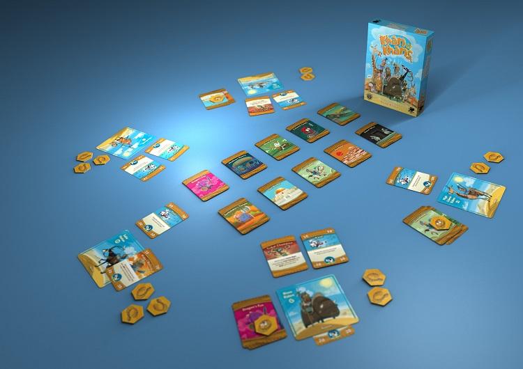 Khan of Khans game pieces