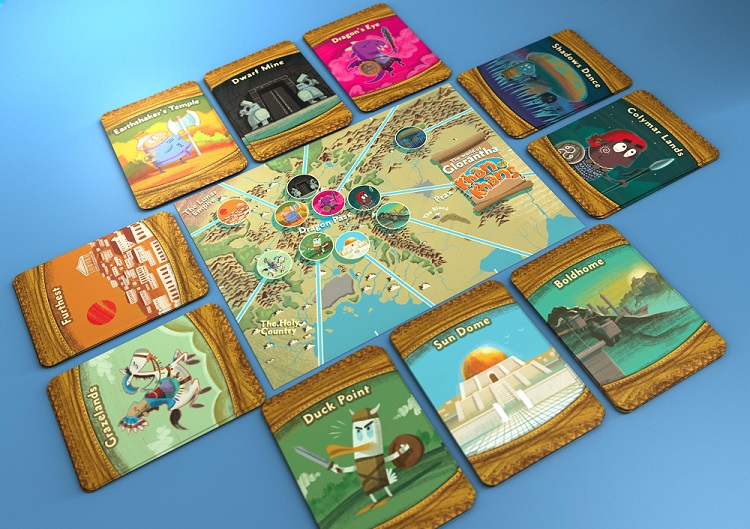 Khan of Khans map board