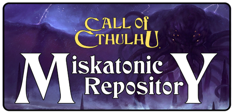 Miskatonic Repository Header