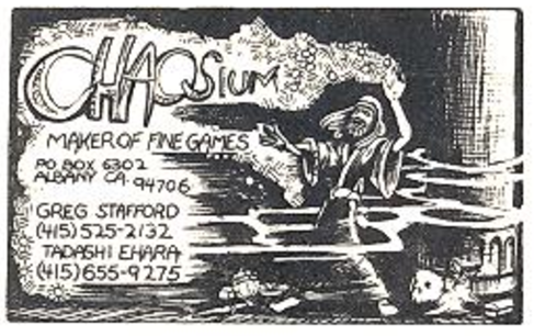 Original Chaosium Logo