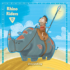 Rhino Riders Khan Card