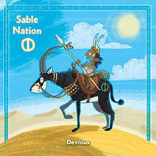 Sable Khan Card
