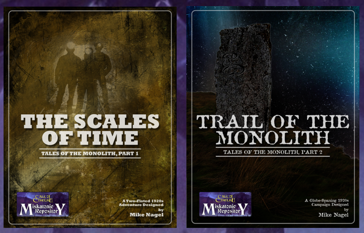 Tales of the Monolith Parts 1 and 2 - Miskatonic Repository