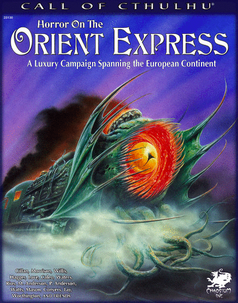 Horror on the Orient Express